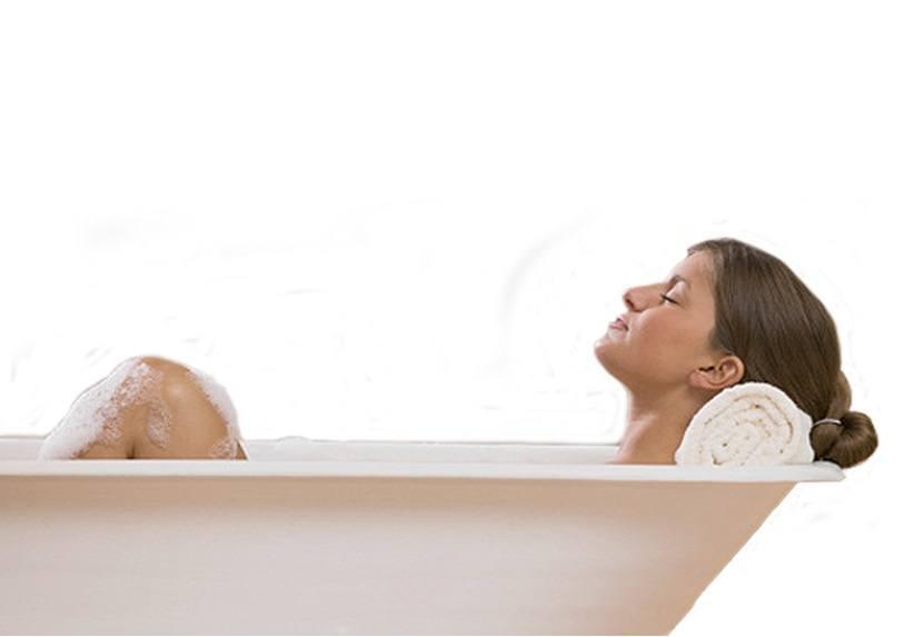 Hacer Baño Hidratante y Relajante
