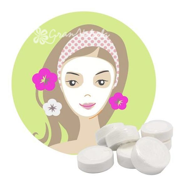 Receta para preparar mascarilla facial vitamínica de celulosa