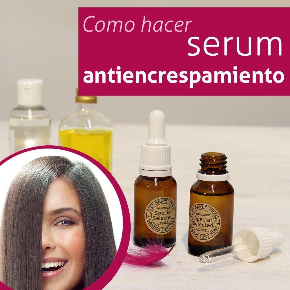 Hacer serum antiencrespamiento