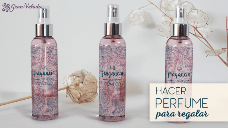 Como hacer perfume para regalar